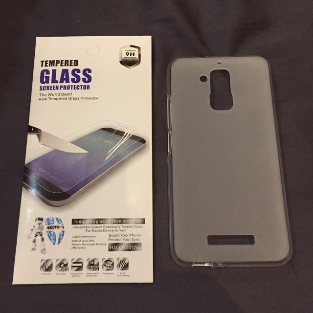Zenfone 3 Max 手機保護殼+保護貼
