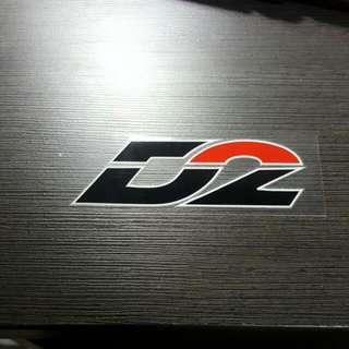 D2 Racing Sticker