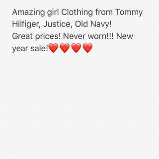 Amazing Sale For Girl Clothing!