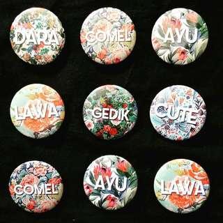 Button Badges RM2