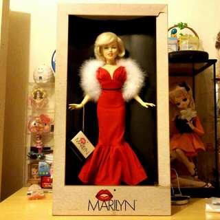 1983年瑪麗蓮夢露紀念版 大型珍藏娃娃 18寸半高Marilyn Monroe