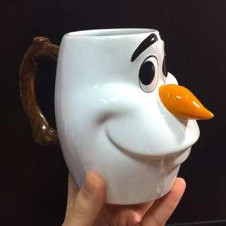 Disney迪士尼-雪寶馬克杯