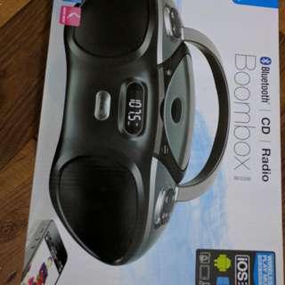 Brand New Ilive Bluetooth Boom box(CD/Radio)