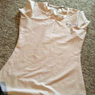 White Under Armour Tshirt