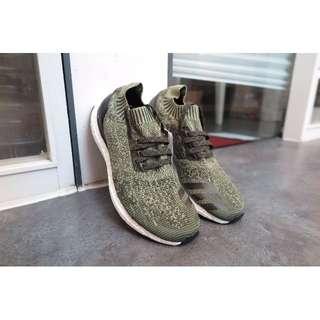 Adidas ultra boost uncaged軍綠 歐洲限量款 BB3901 慢跑鞋 US10 現貨在台
