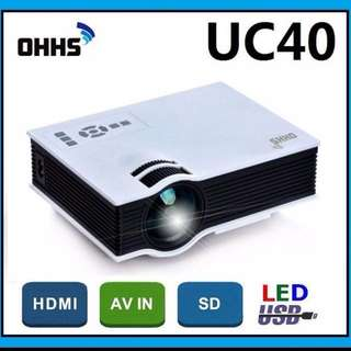 Mini Home High Definition LED Projector Pro 55WHD 1080P