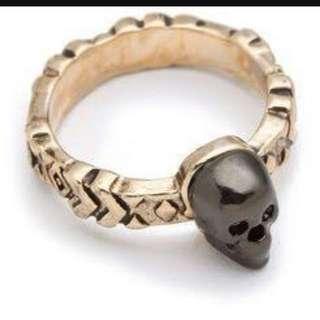 House Of Harlow 1960 Skull Ring