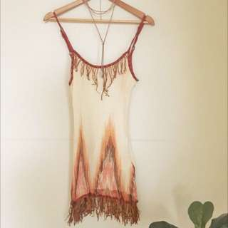 Guanabana Top With Fringing