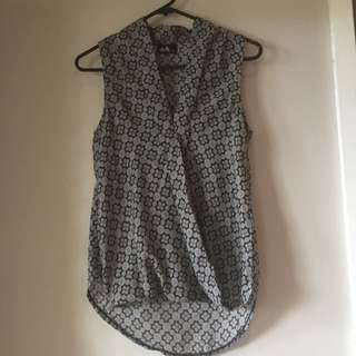 Work Wrap Style Top Free Postage!
