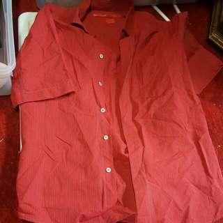 Medium Red Shirt
