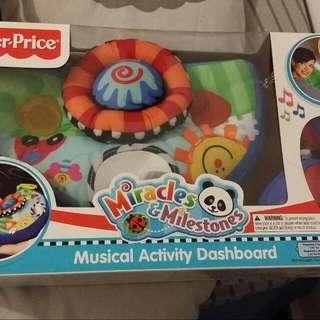Musical Activity Dashboard