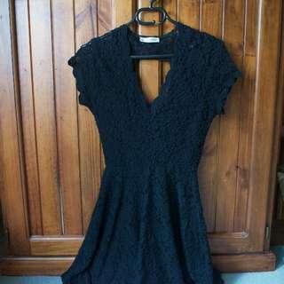Stunning black evening dress