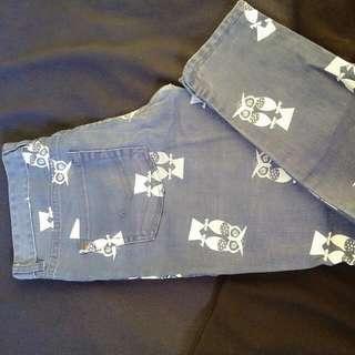 Element Women Cute Slim Denim Jeans