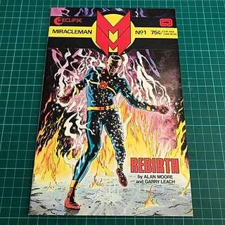 Eclipse Comics Miracleman #1 Copper Age Key NM/NM- Alan Moore Gary Leach