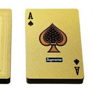Supreme Poker card