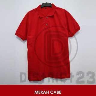 Polo Shirt Unisex Size S-XXXL