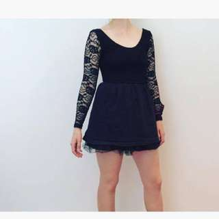 Formal dress long sleeve