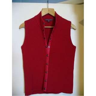 Rodney Clark designer sleeveless Vest,  High Quality, Like New