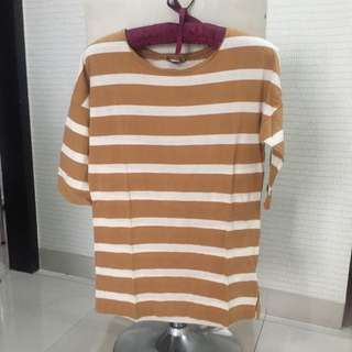 Massimo Dutti striped tshirt size S
