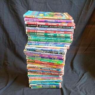 42 Goosebumps Books