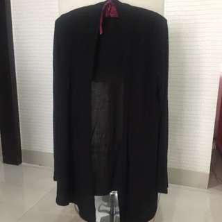 Black cardigan Eann free size