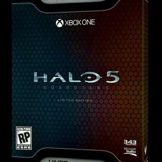 HALO 5 Limited Edition BNIB