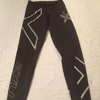 AUTHENTIC 2XU - Full Length Tights Size XXS