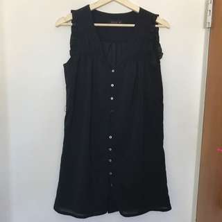 Pilgrim Size 8 Black Dress