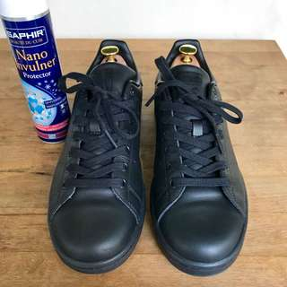 Adidas Stan Smith Triple Black (UK 8.5)