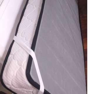 Single Bed and Single Mattress