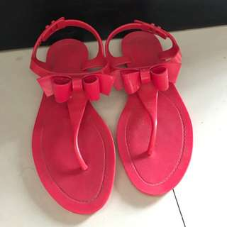 Red Valentino Jelly Sandals
