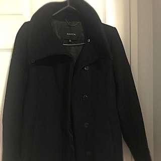 Aritzia Babaton Wool Coat in black XS - Calloway