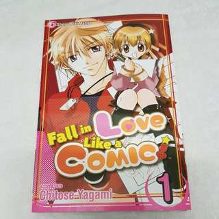 Fall In Love Like A Comic - Chitose Yagami - Vol 1
