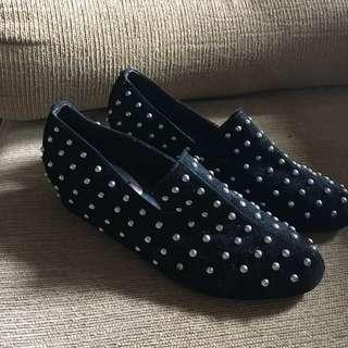 Decimalshoe Studded Loafer Shoes