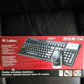 Wireless Keyboard & Mouse (Original Labtec)