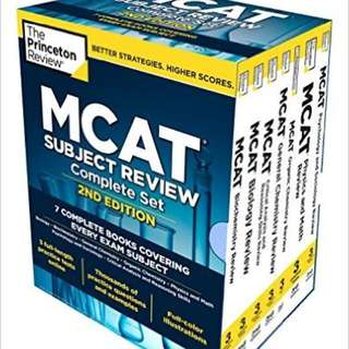 2015 MCAT Princeton Review + 4 EXTRA