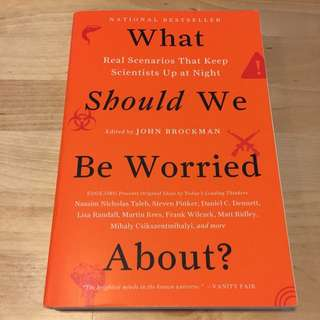 What Should We Be Worried About? - National Bestseller