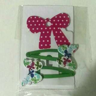 FOR CHARITY Butterfly Clips