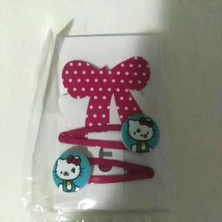 FOR CHARITY Hello Kitty Clips