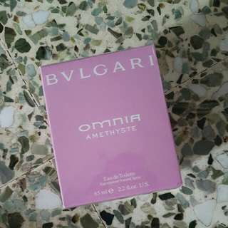 BVLGARI-OMNIA AMETHYSTE 65ML ESCADA-SUNSET HEAT 100ML