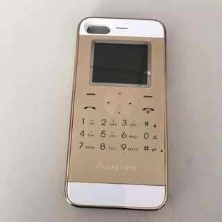 For iPhone 5/5s/se 蘋果皮雙卡雙待手機背殼