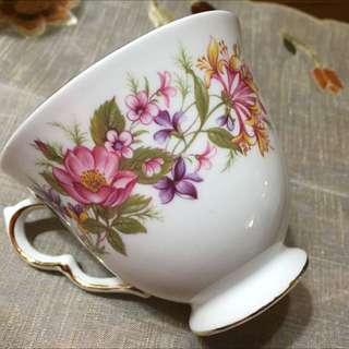 英國製royal Robert旗下colclough骨瓷咖啡杯