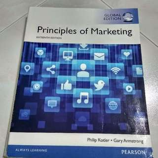 AB1501 Principles of Marketing 16th Edition