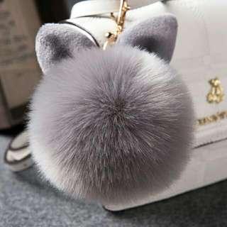 毛絨球 兔耳朵毛毛