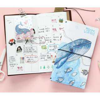 Whale Planner Notebook