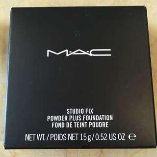 M.A.C Studio Fix 粉餅 色號NC15 全新