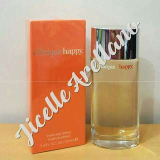 Authentic Parfum Clinique Happy