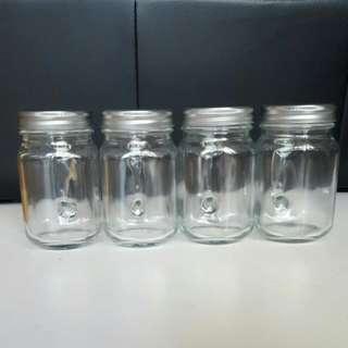 Mason Jars With Lid x6