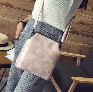 NS7735 Pink, Gray - Tas Kantor, Tas Pesta - Sling Bag, Tas Selempang - Tas Wanita Murah - Tas Import