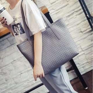 NS7736 Purple Gray, Gold, Gray - Tas Kantor, Tas Pesta - Shoulder Bag, Hand Bag - Tas Wanita Murah - Tas Import